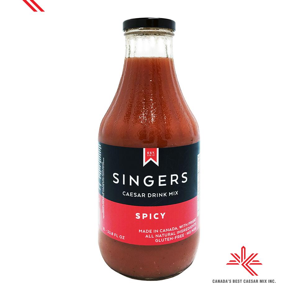 SINGERS CAESAR DRINK MIX SPICY 1L