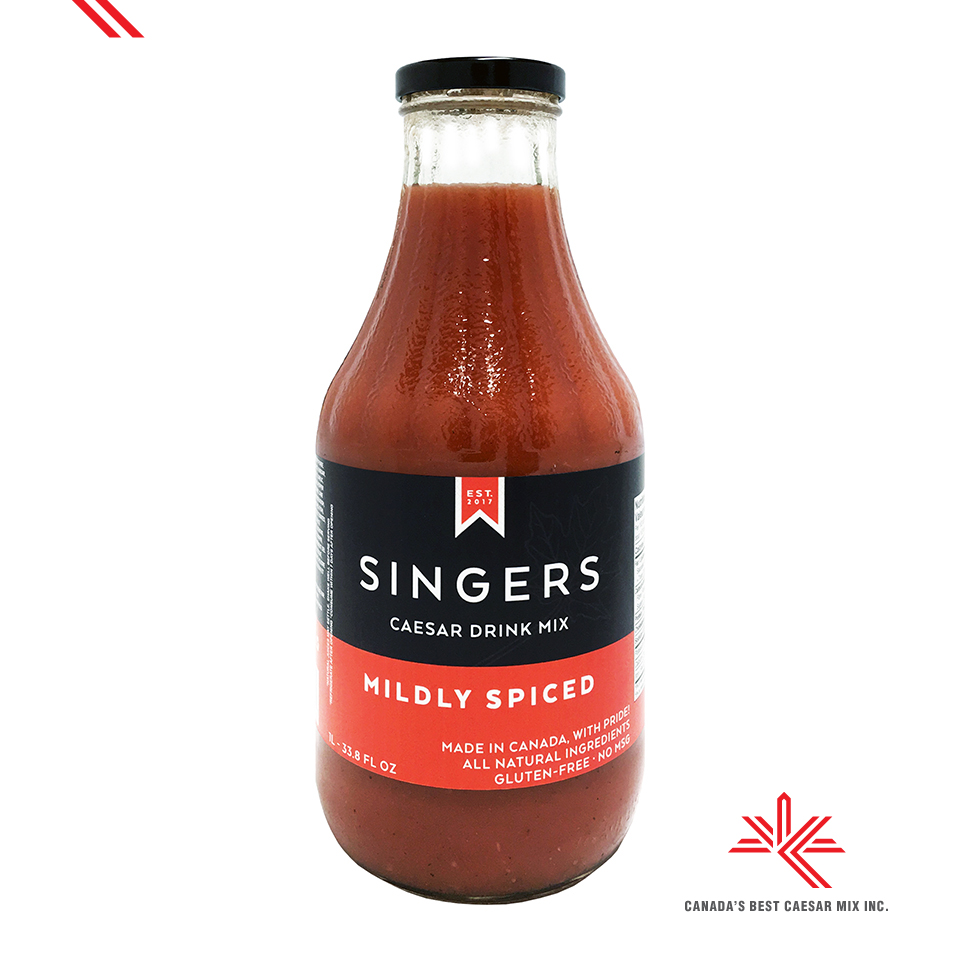 SINGERS CAESAR DRINK MIX MILDLY SPICED 1L