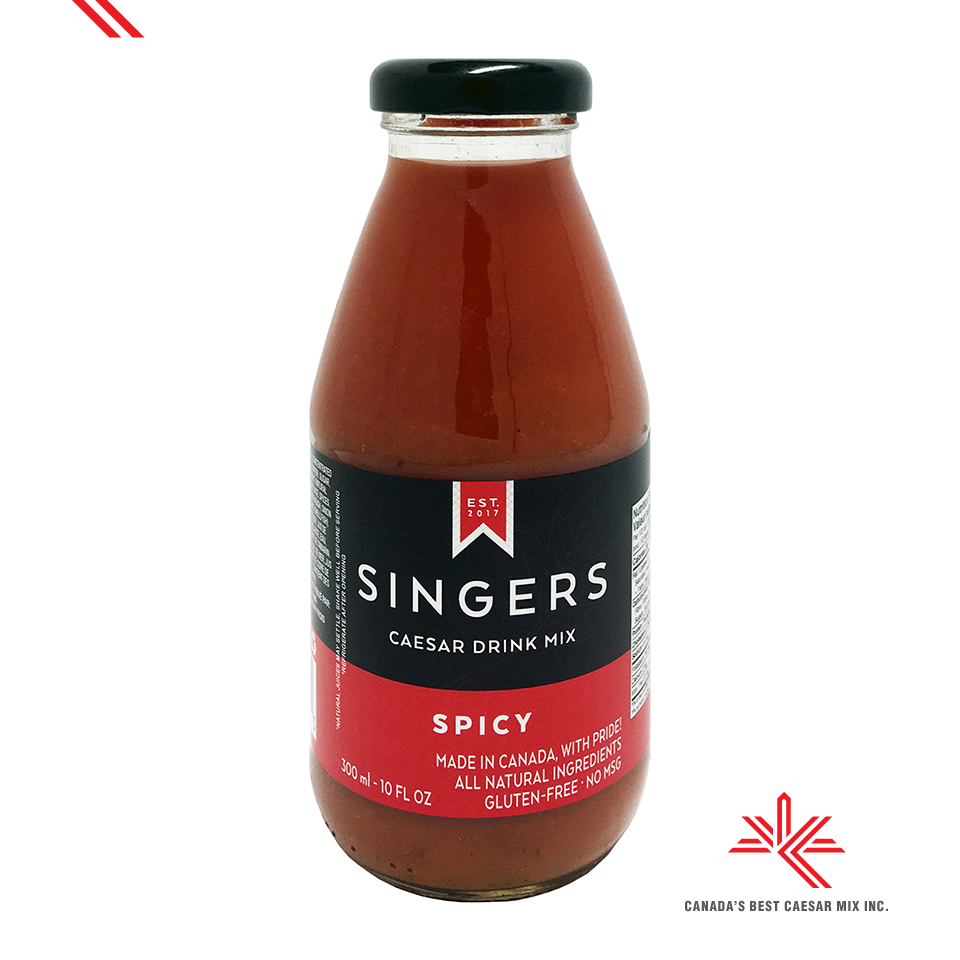 SINGERS CAESAR DRINK MIX SPICY 300mL